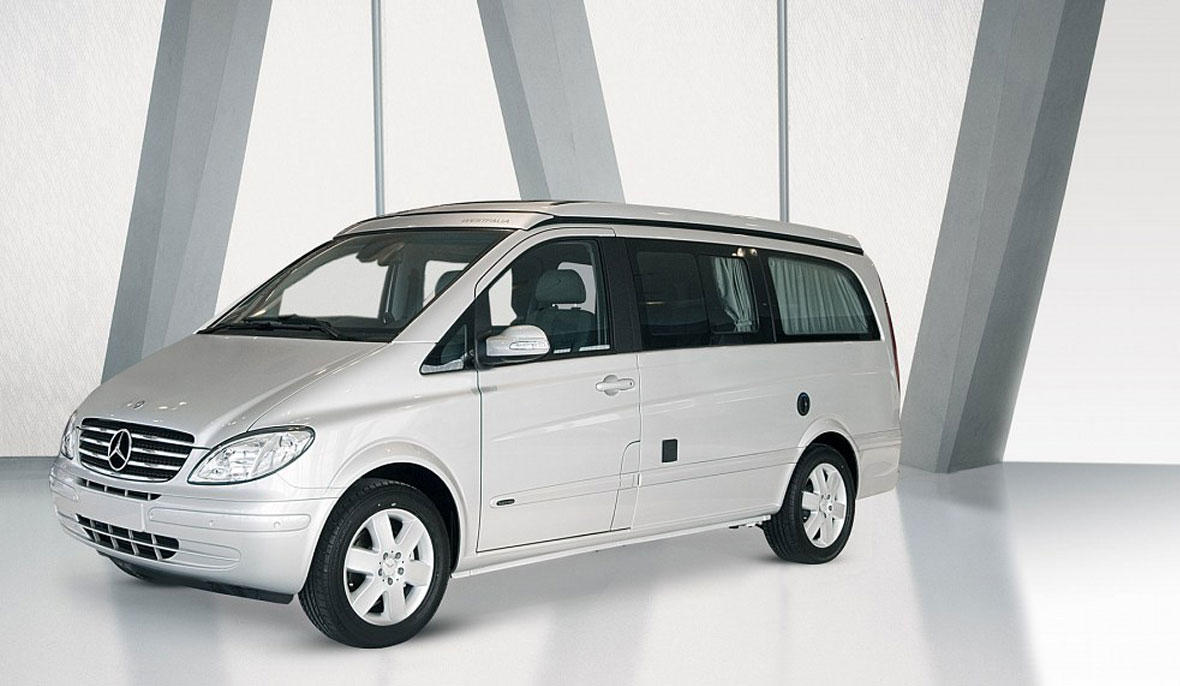 Mercedes Viano Alpin White Extra Long Vip-Car
