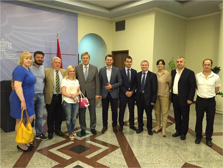 Vizitë miqësore në Shqipëri