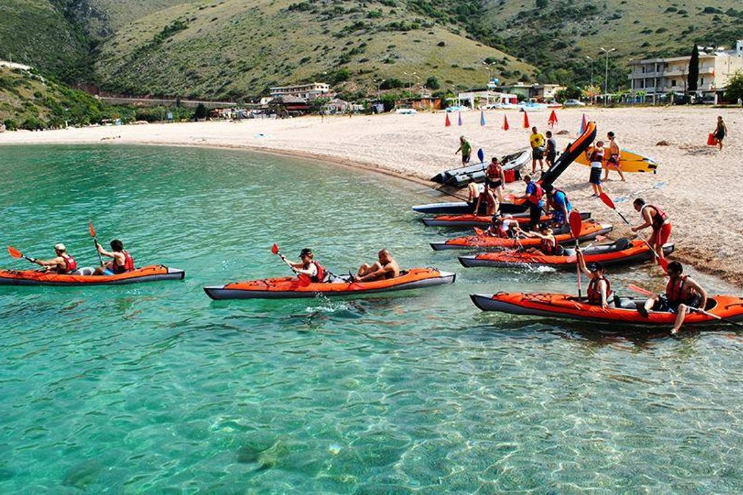 Kayaking in Albania