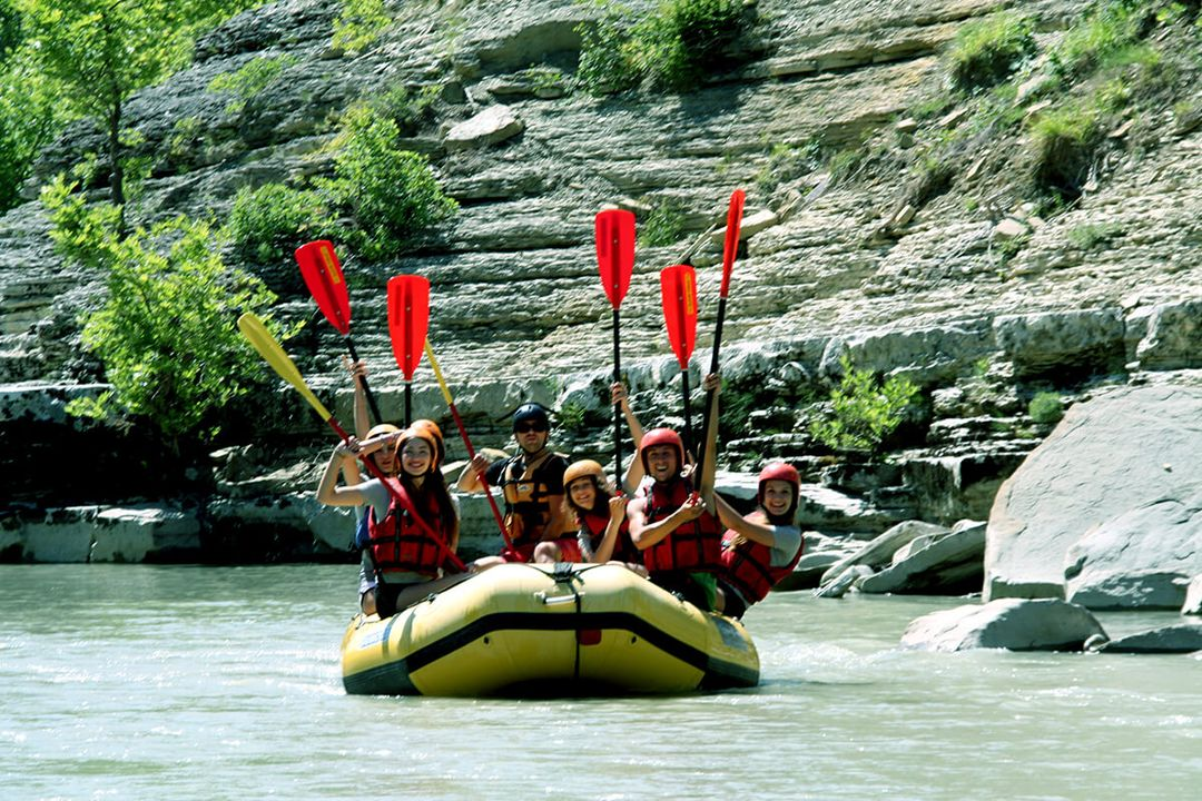 Rafting in Osumi Canyons - Skrapar
