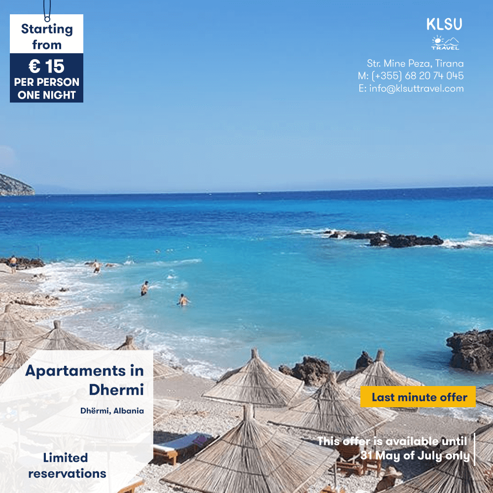 Apartments in Dhermi