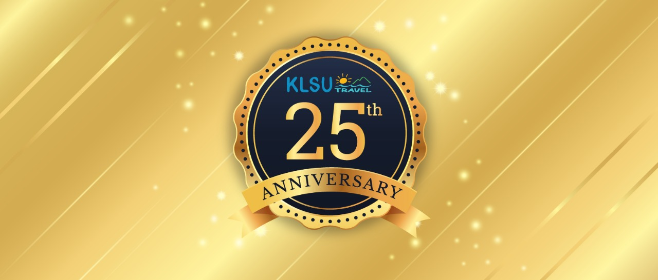 We are celebrating the 25th anniversary